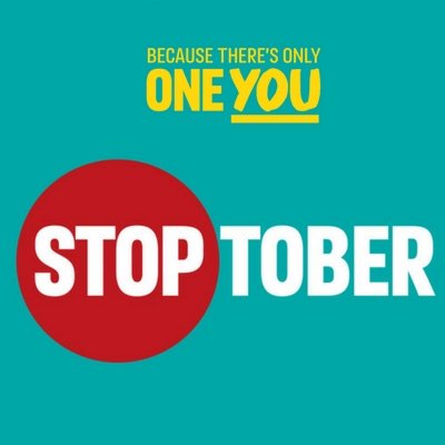 This is a picture to promote stoptober